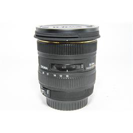 Used Sigma EX 10-20mm Canon Fit thumbnail