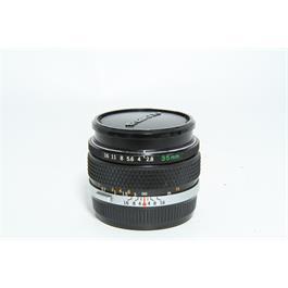 Used Olympus OM 35mm f2.8 35mm Film Lens thumbnail