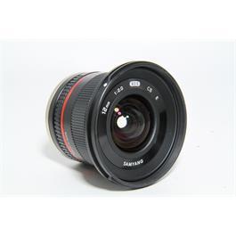 Used Samyang 12mm F/2 Lens Sony E Fit Thumbnail Image 1