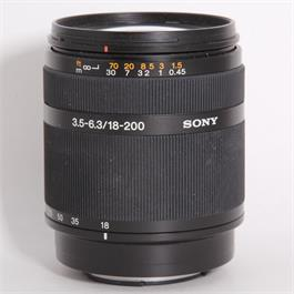 Used Sony DT 18-200mm f/3.5-6.3 thumbnail