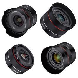 Samyang Tiny Prime AF Lens Kit - 18/24/35/45mm - Sony FE Mount thumbnail