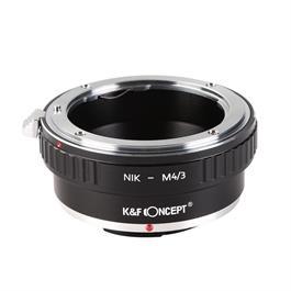 K&F Nikon F Lenses to M43 MFT Mount Camera Adapter