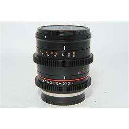 Used Samyang 50mm T1.3 Lens M 4/3 Fit thumbnail