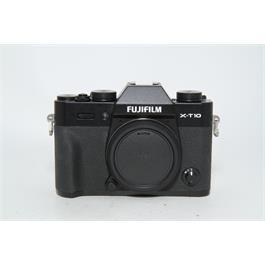 Fujifilm Used Fuji X-T10 Body Black Thumbnail Image 0