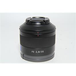 Used Sony Zeiss Sonnar T* FE 35mm f/2.8 thumbnail