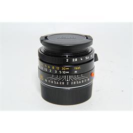 Used Leica 35mm f2 Summicron ASPH Lens thumbnail