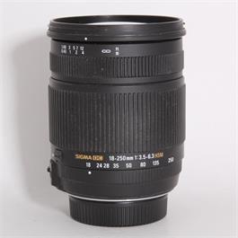 Used Sigma 18-250mm f/3.5-6.3 DC  OS HSM Macro - Nikon thumbnail