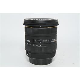 Used Sigma EX 10-20mm DC Lens Canon Fit thumbnail