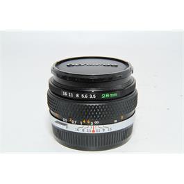 Used Olympus OM 28mm f3.5 Zuiko Lens thumbnail