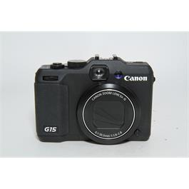 Used Canon G15 Compact Camera thumbnail