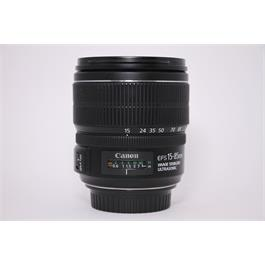 Used Canon 15-85mm EF F/3.5-5.6 IS USM thumbnail