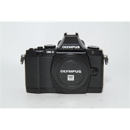 Used Olympus E-M5 Body Black thumbnail