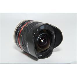 Used Samyang 8mm F2.8 Fisheye II Sony E Thumbnail Image 1