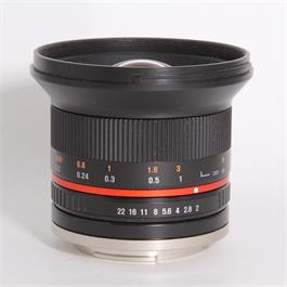 Used Samyang 12mm f/2 - Sony-E thumbnail