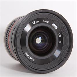 Used Samyang 12mm f/2 - Sony-E Thumbnail Image 1