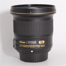 Used Nikon AF-S 20mm f/1.8G thumbnail