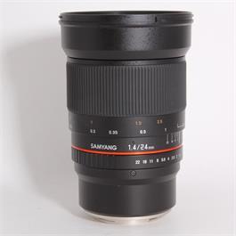 Used Samyang 24mm f/1.4 ED AS UMC - Fuji thumbnail