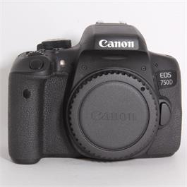 Used Canon 750D Body thumbnail