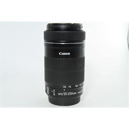 Used Canon 55-250mm F4-5.6 IS STM Lens thumbnail