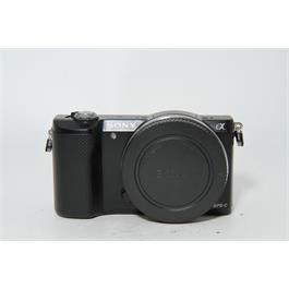 Used Sony A5000 Body Black thumbnail