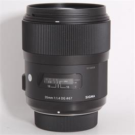 Used Sigma 35mm f/1.4 DG HSM Art - Nikon thumbnail