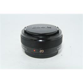 Used Panasonic 20mm f/1.7 II Lens Black thumbnail
