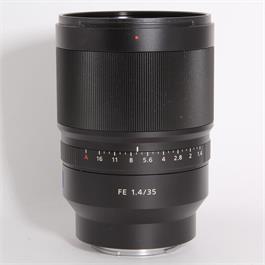 Used Sony 35mm f/1.4 Distagon T* ZA (FE) thumbnail