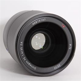 Used Sony 35mm f/1.4 Distagon T* ZA (FE) Thumbnail Image 1