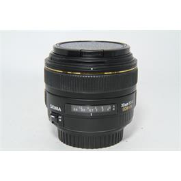 Used Sigma EX 30mm F1.4 DC HSM Canon Fit thumbnail