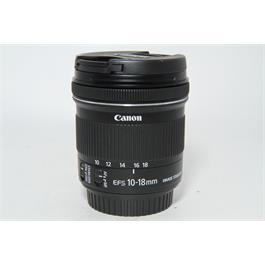 Used Canon 10-18mm f4.5-5.6 IS STM Lens thumbnail