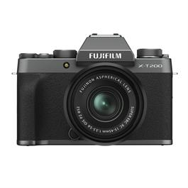 Fujifilm X-T200 Mirrorless Camera With 15-45mm XC Lens Kit Dark Silver thumbnail