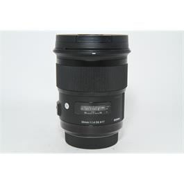 Used Sigma 50mm f1.4 ART Lens Sony A Fit thumbnail