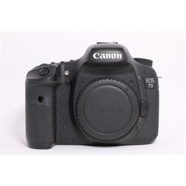 Used Canon EOS 7D body thumbnail