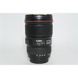 Used Canon EF 16-35mm f4 IS USM Lens thumbnail