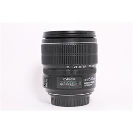 Used Canon 15-85mm F/3.5-5.6 IS USM thumbnail