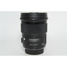 Used Sigma 50mm f1.4 DG Art Lens Nikon Fit thumbnail