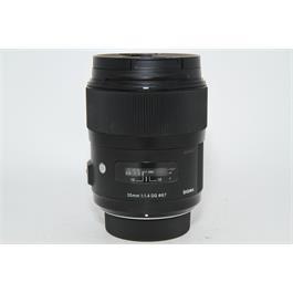 Used Sigma 35mm f/1.4 ART Lens Nikon Fit thumbnail