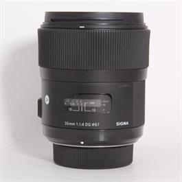 Used Sigma 35mm f/1.4 DG HSM Art - Nikon thumbnail