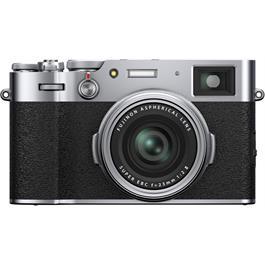 Fujifilm X100V Compact Digital Camera Silver thumbnail