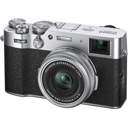 Fujifilm X100V Compact Digital Camera Silver Thumbnail Image 2