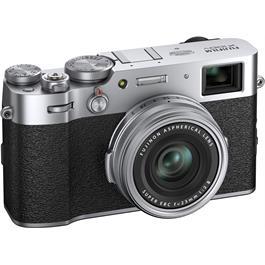 Fujifilm X100V Compact Digital Camera Silver Thumbnail Image 3