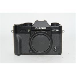 Fujifilm Used Fuji X-T20 Body Black thumbnail