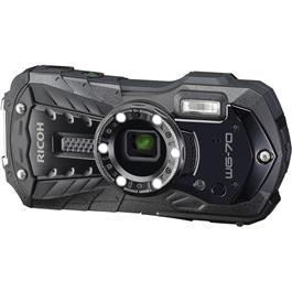 Ricoh WG-70 Waterproof Rugged Camera Black thumbnail