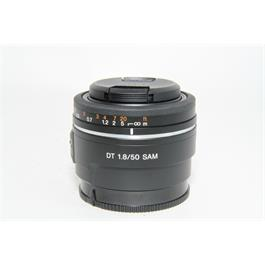Used Sony DT 50mm F1.8 SAM Lens thumbnail