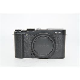 Fujifilm Used Fuji X-M1 Body Black thumbnail