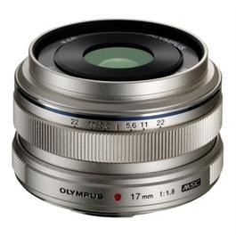 Olympus M.Zuiko Digital 17mm f/1.8 Lens - Silver thumbnail