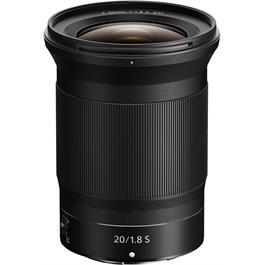 Nikon Nikkor Z 20mm f/1.8 S Ultra Wide Angle Prime Lens thumbnail