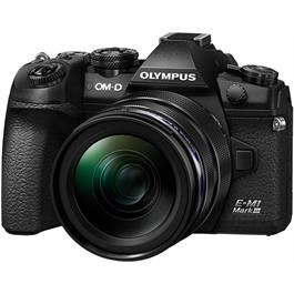 Olympus OM-D E-M1 MK III Camera With 12-40mm f/2.8 PRO Lens Kit Thumbnail Image 1