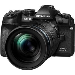 Olympus OM-D E-M1 MK III Camera With 12-100mm f/4 IS PRO Lens Kit thumbnail