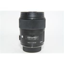 Used Sigma 35mm f/1.4 DG ART Lens Nikon thumbnail